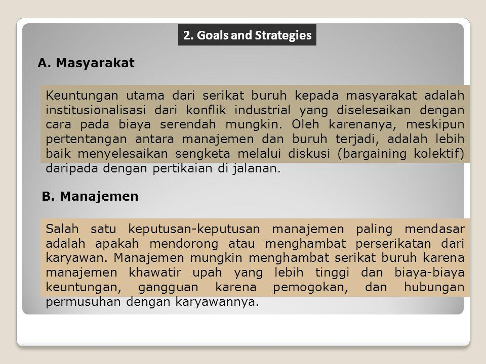 2. Goals and Strategies Masyarakat