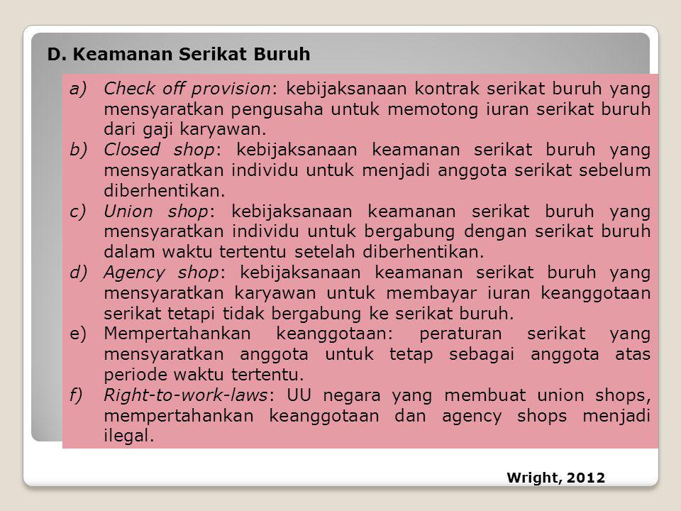 Keamanan Serikat Buruh