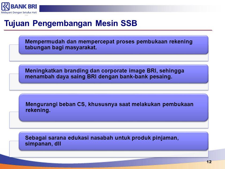 Tujuan Pengembangan Mesin SSB