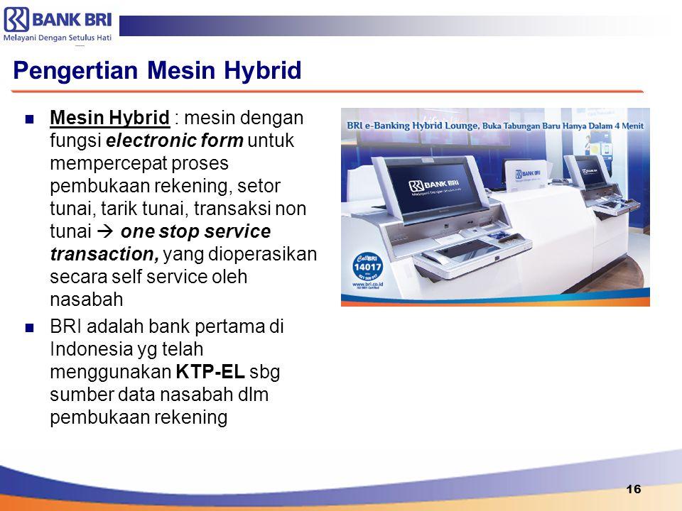 Pengertian Mesin Hybrid
