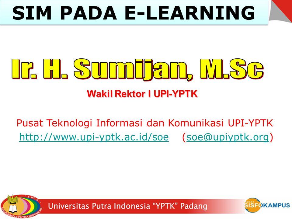 Wakil Rektor I UPI-YPTK