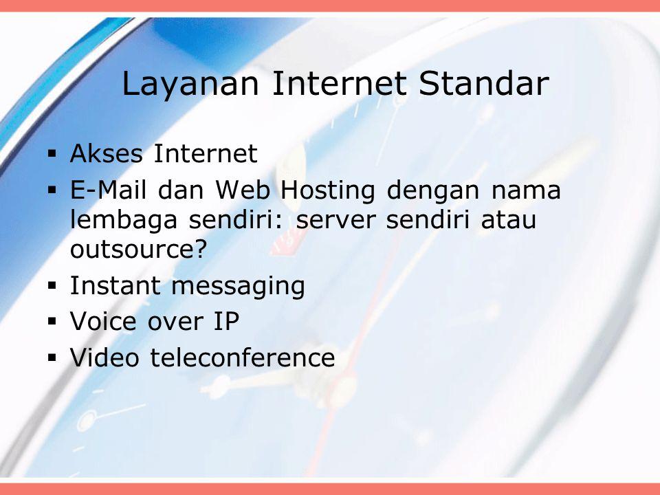 Layanan Internet Standar