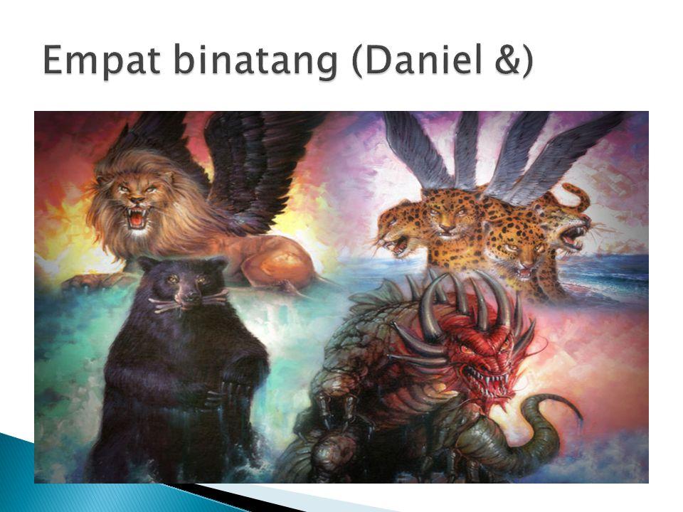 Empat binatang (Daniel &)