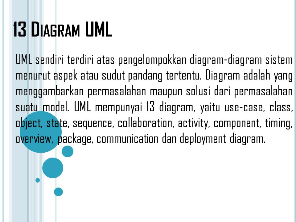 13 Diagram UML