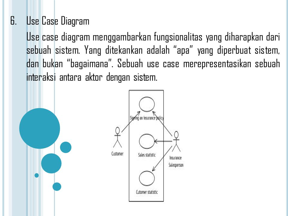 6. Use Case Diagram
