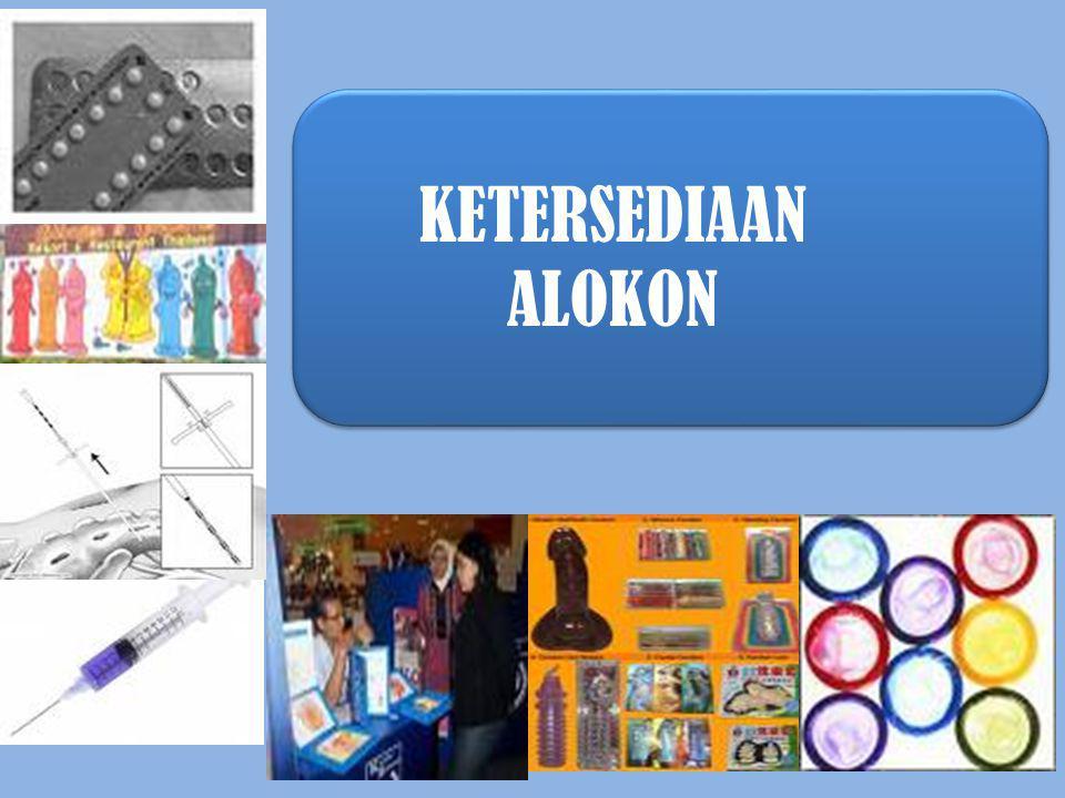KETERSEDIAAN ALOKON