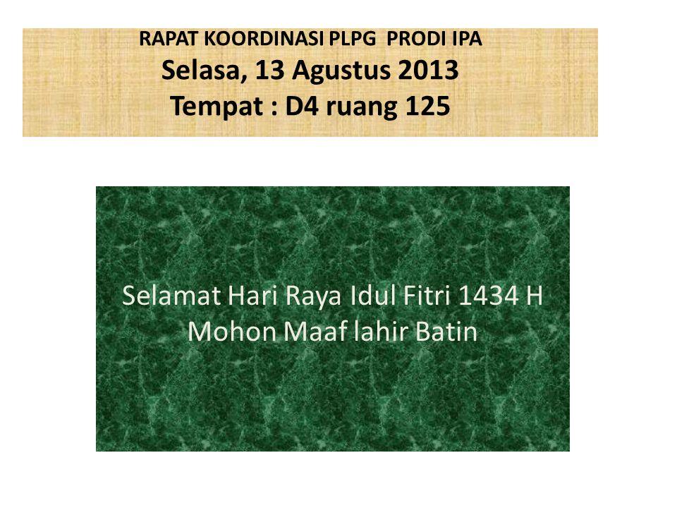 Selamat Hari Raya Idul Fitri 1434 H Mohon Maaf lahir Batin