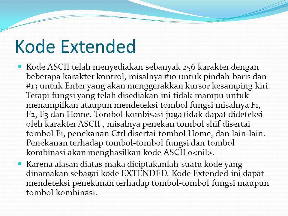 Kode Extended
