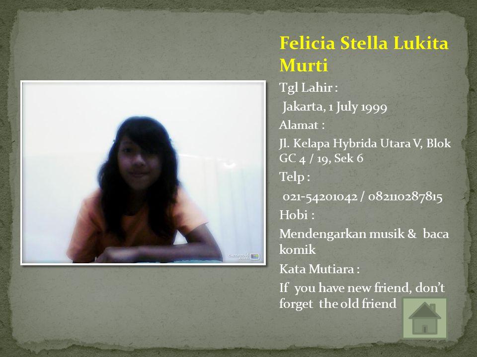 Felicia Stella Lukita Murti