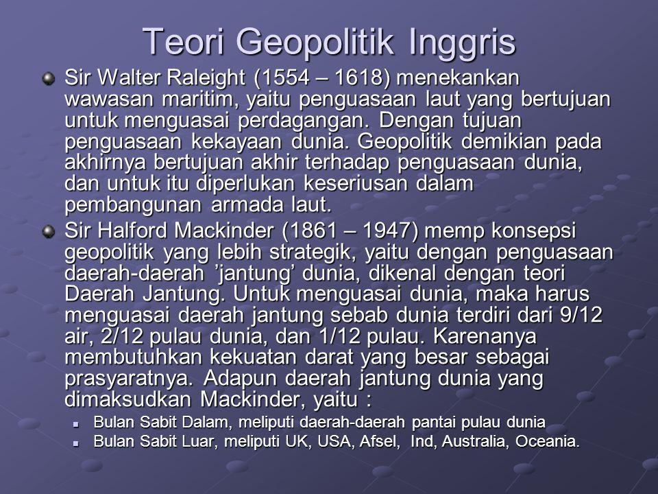 Teori Geopolitik Inggris
