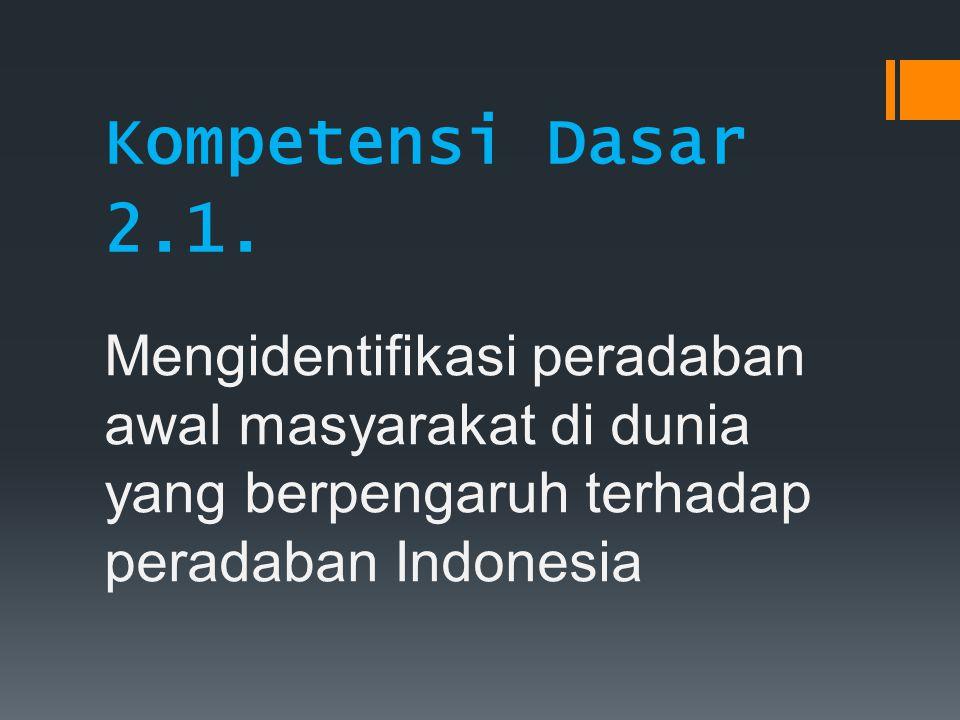 Kompetensi Dasar 2.1.