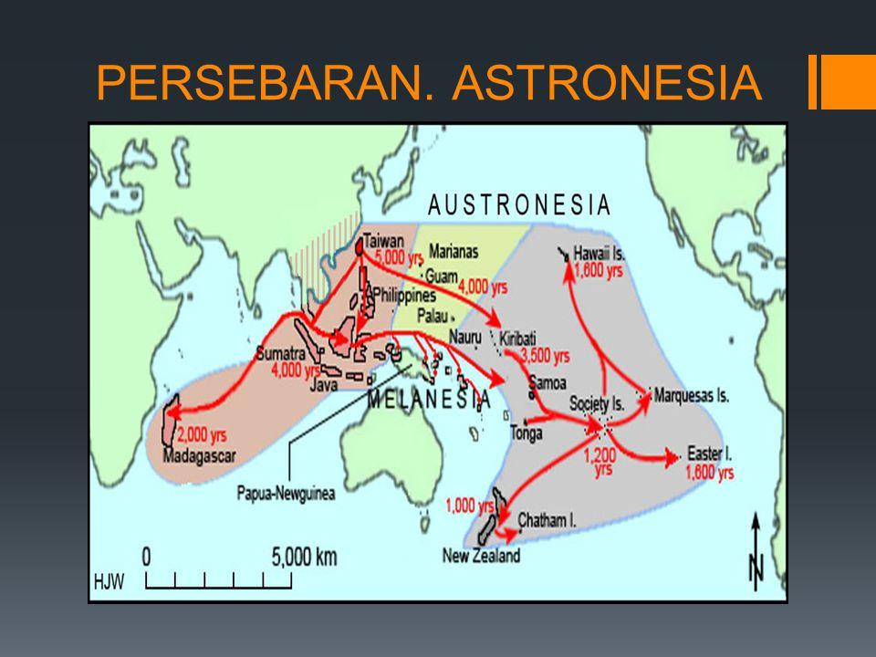 PERSEBARAN. ASTRONESIA