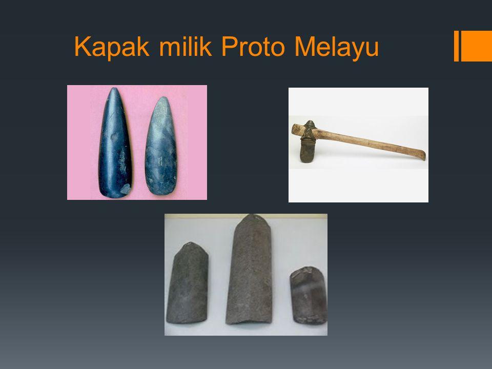 Kapak milik Proto Melayu