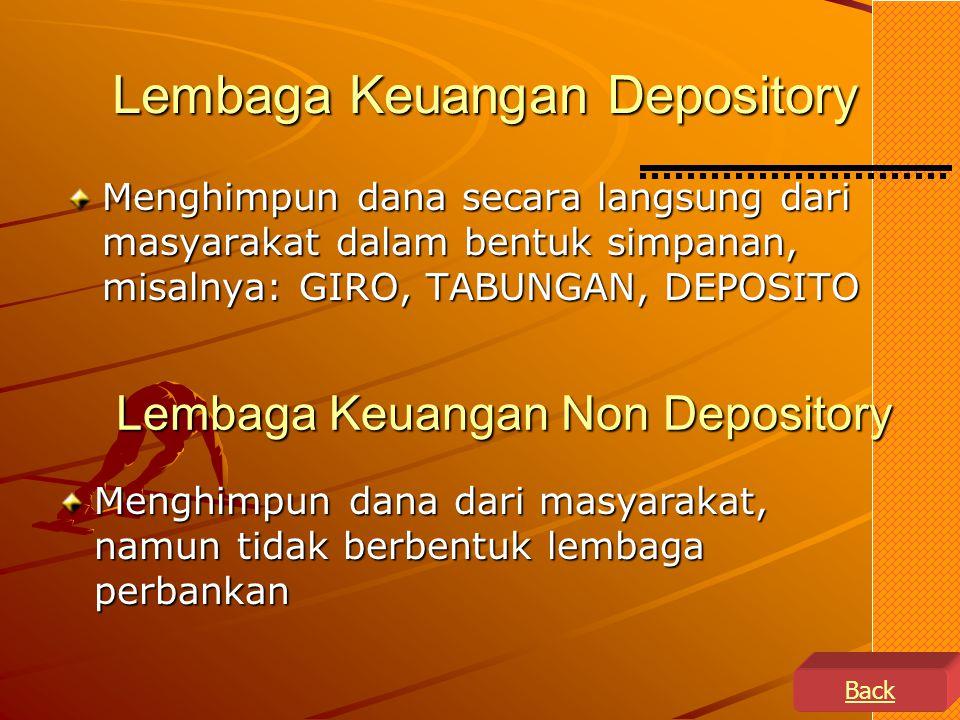 Lembaga Keuangan Depository