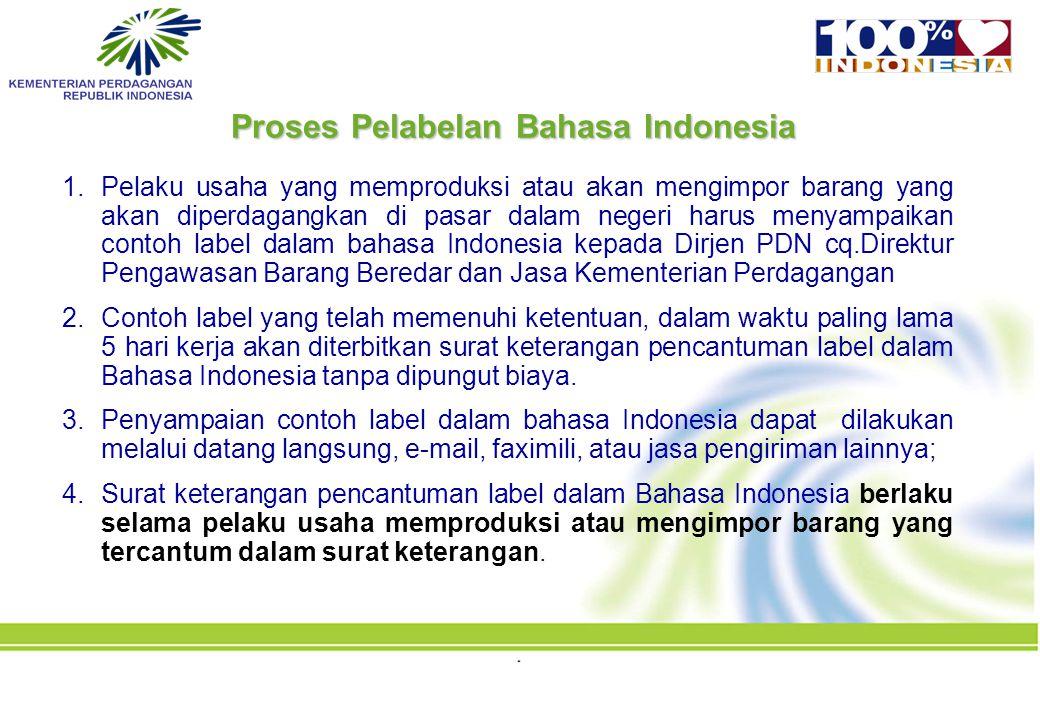 Proses Pelabelan Bahasa Indonesia