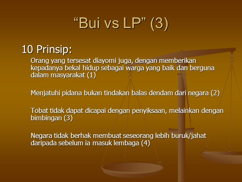 Bui vs LP (3) 10 Prinsip: