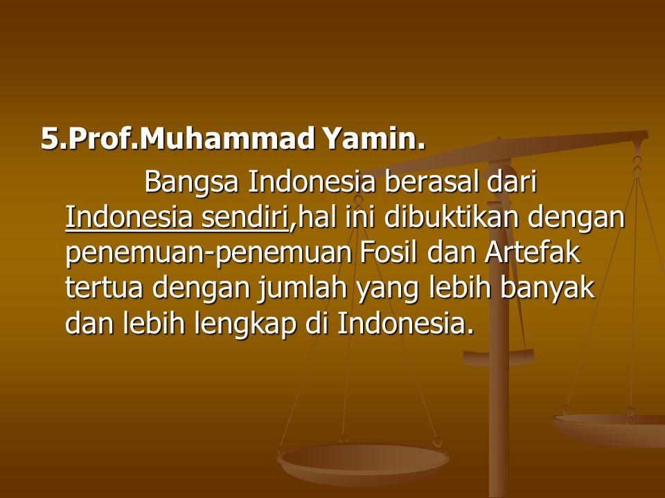 5.Prof.Muhammad Yamin.