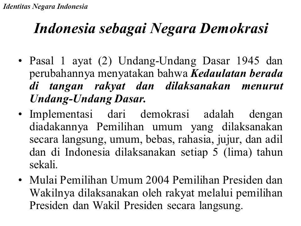 Indonesia sebagai Negara Demokrasi