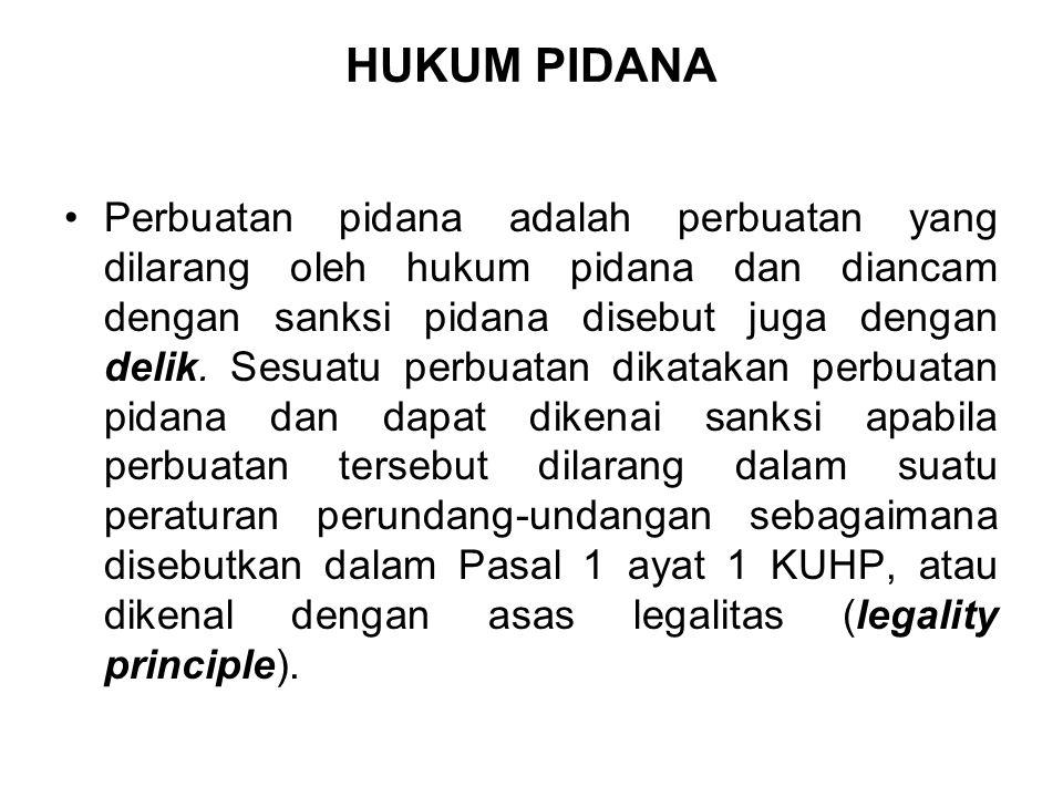 HUKUM PIDANA