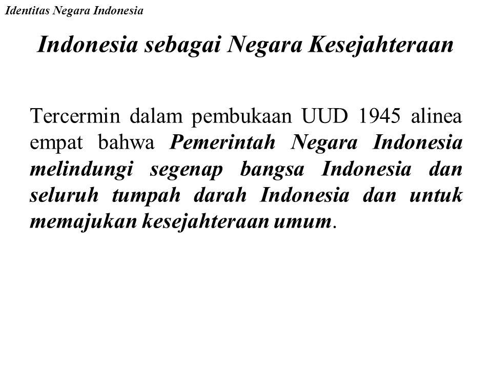 Indonesia sebagai Negara Kesejahteraan