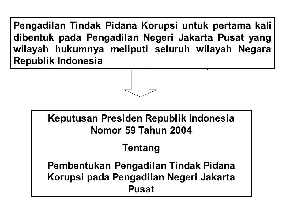 Keputusan Presiden Republik Indonesia Nomor 59 Tahun 2004