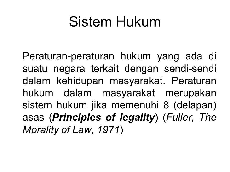 Sistem Hukum