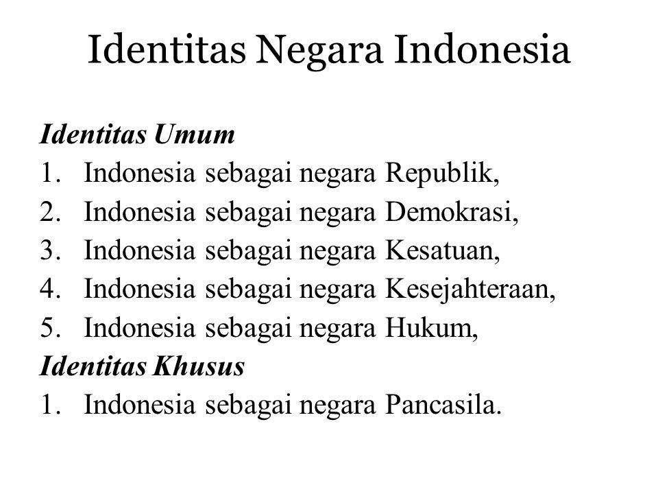 Identitas Negara Indonesia