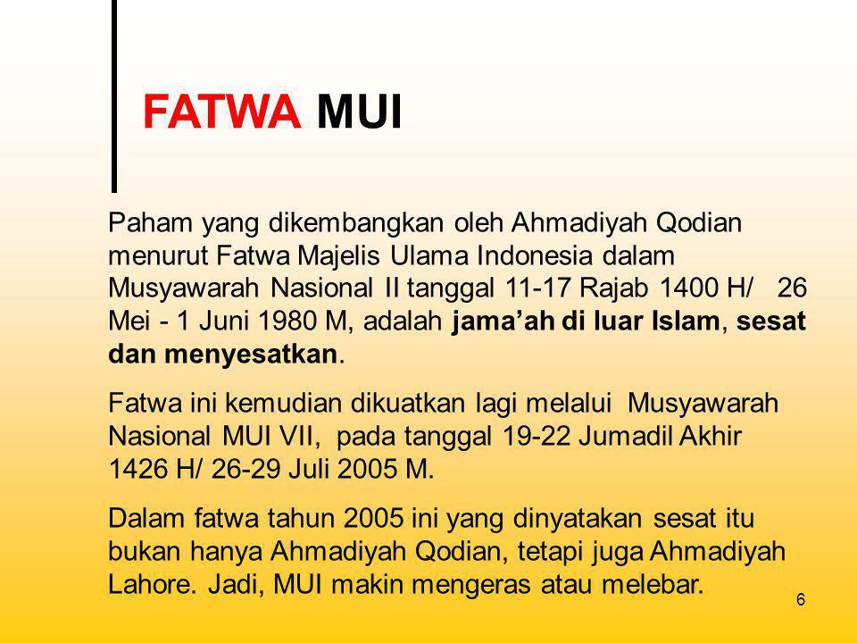 FATWA MUI