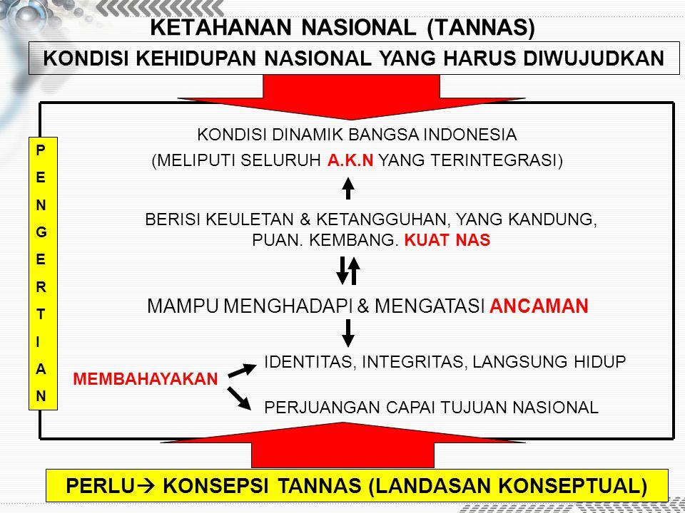 KETAHANAN NASIONAL (TANNAS)