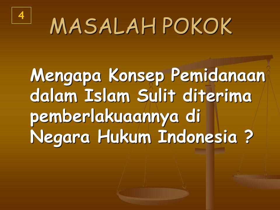 4 MASALAH POKOK.