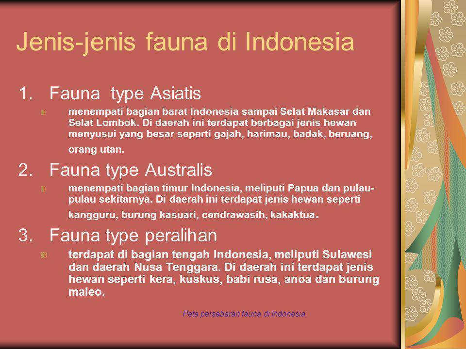 Jenis-jenis fauna di Indonesia