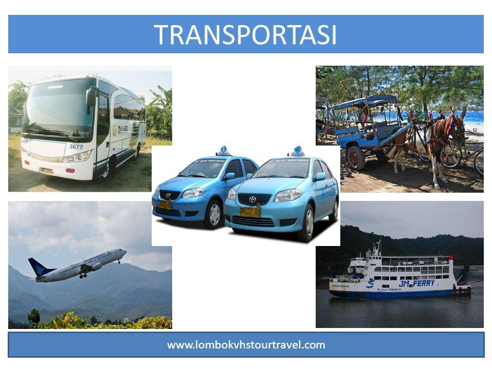 TRANSPORTASI www.lombokvhstourtravel.com