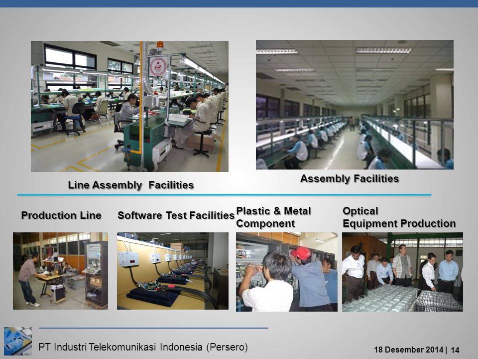 Assembly Facilities Line Assembly Facilities. Plastic & Metal. Component. Optical. Equipment Production.