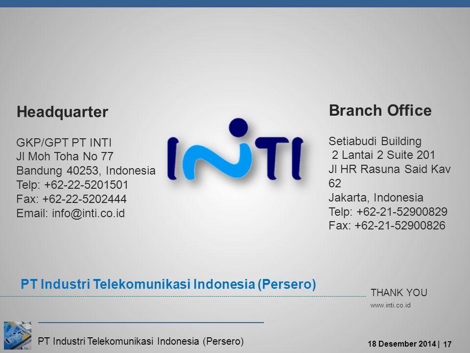 Headquarter Branch Office