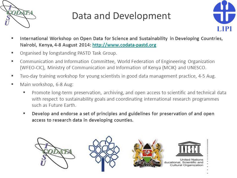 Data and Development
