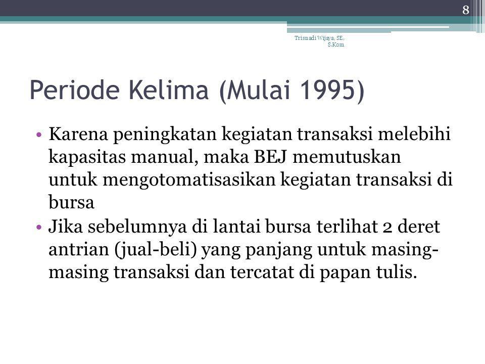 Periode Kelima (Mulai 1995)