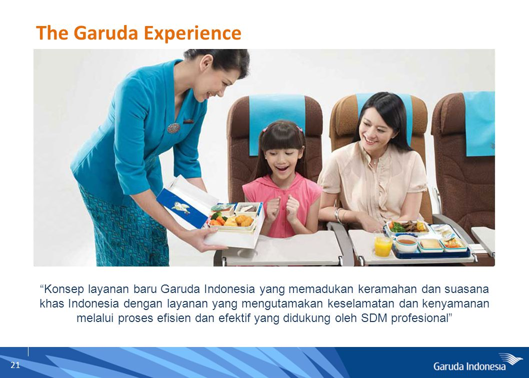 The Garuda Experience SIGHT SOUND TOUCH SMELL TASTE