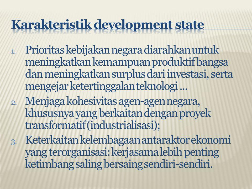 Karakteristik development state