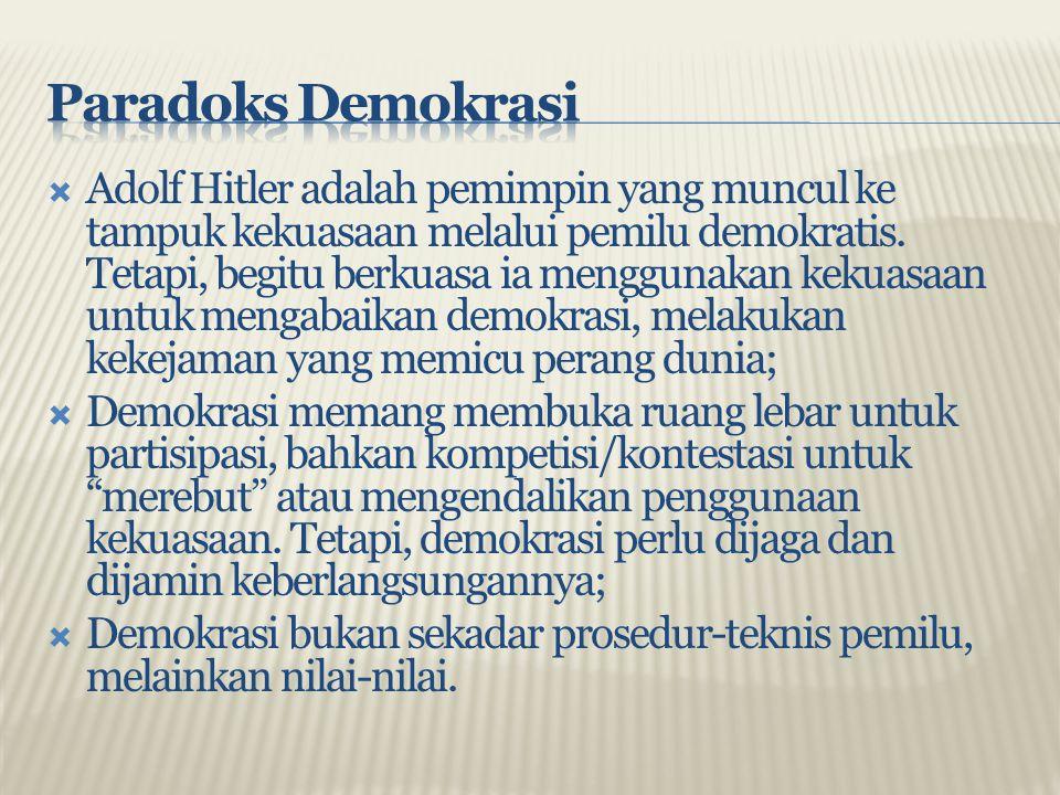 Paradoks Demokrasi