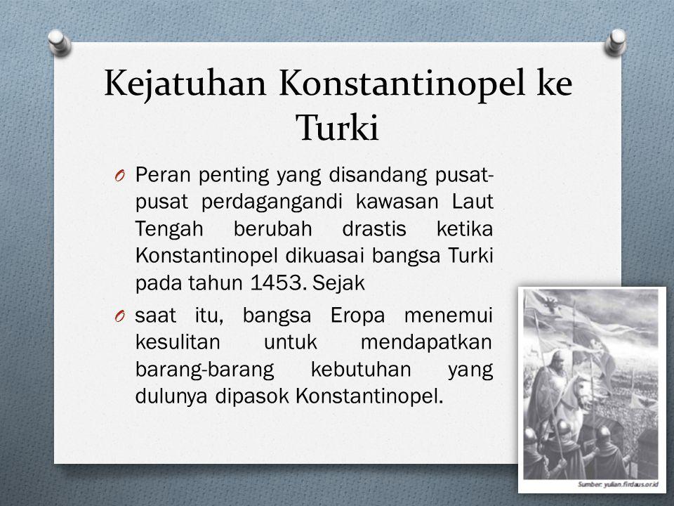 Kejatuhan Konstantinopel ke Turki
