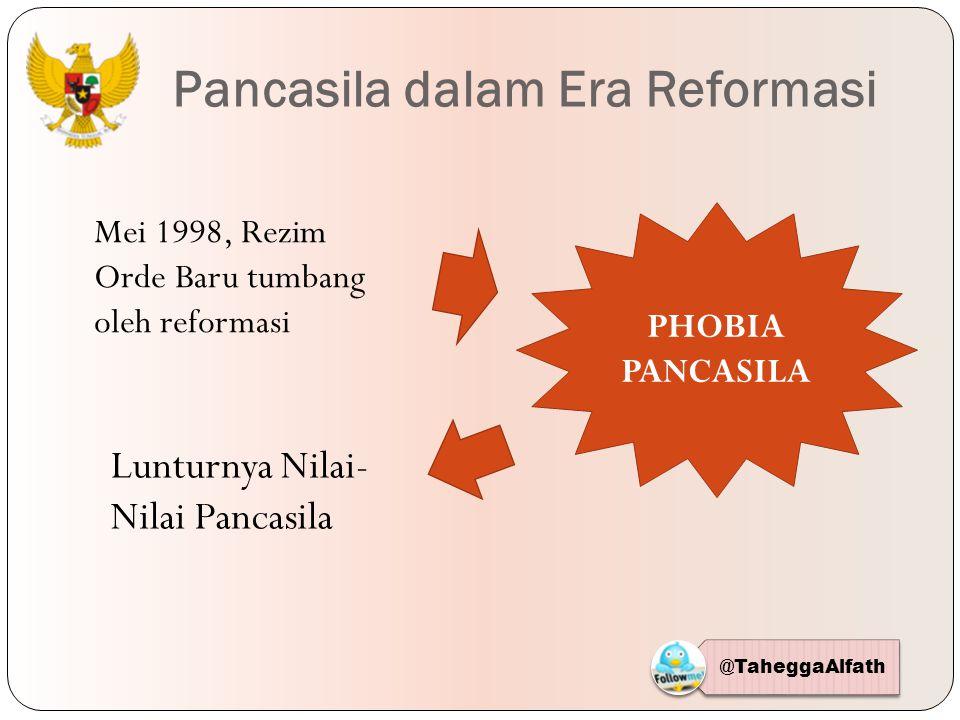 Pancasila dalam Era Reformasi