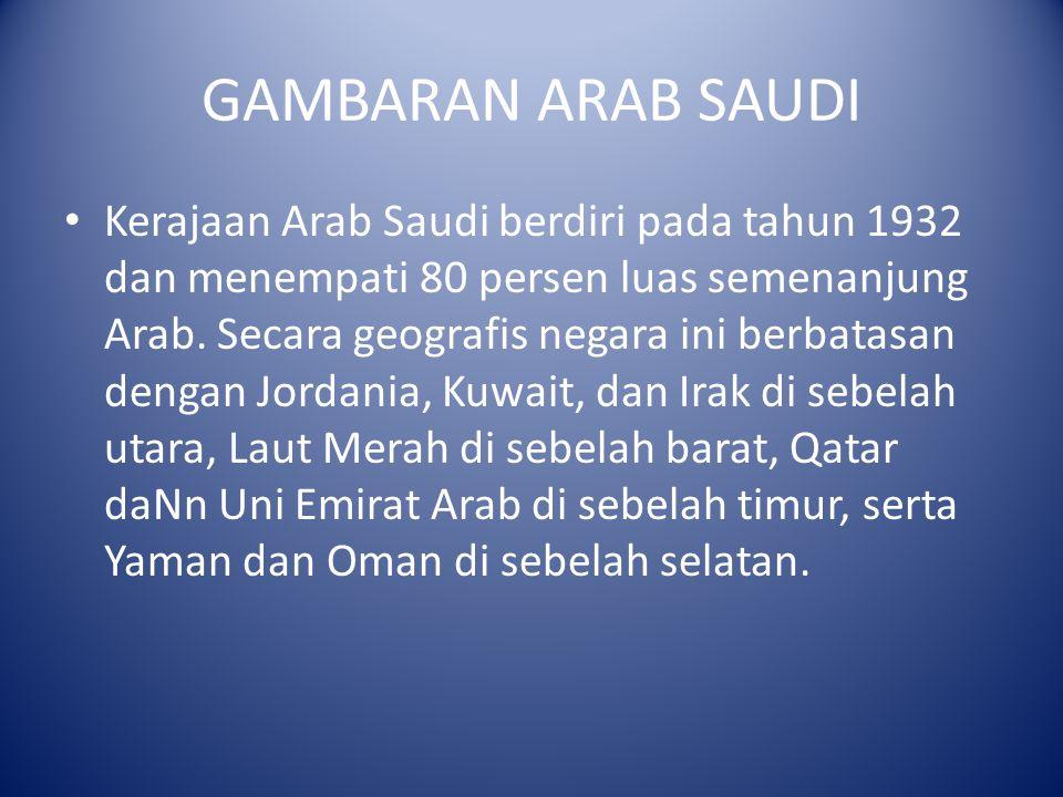 GAMBARAN ARAB SAUDI