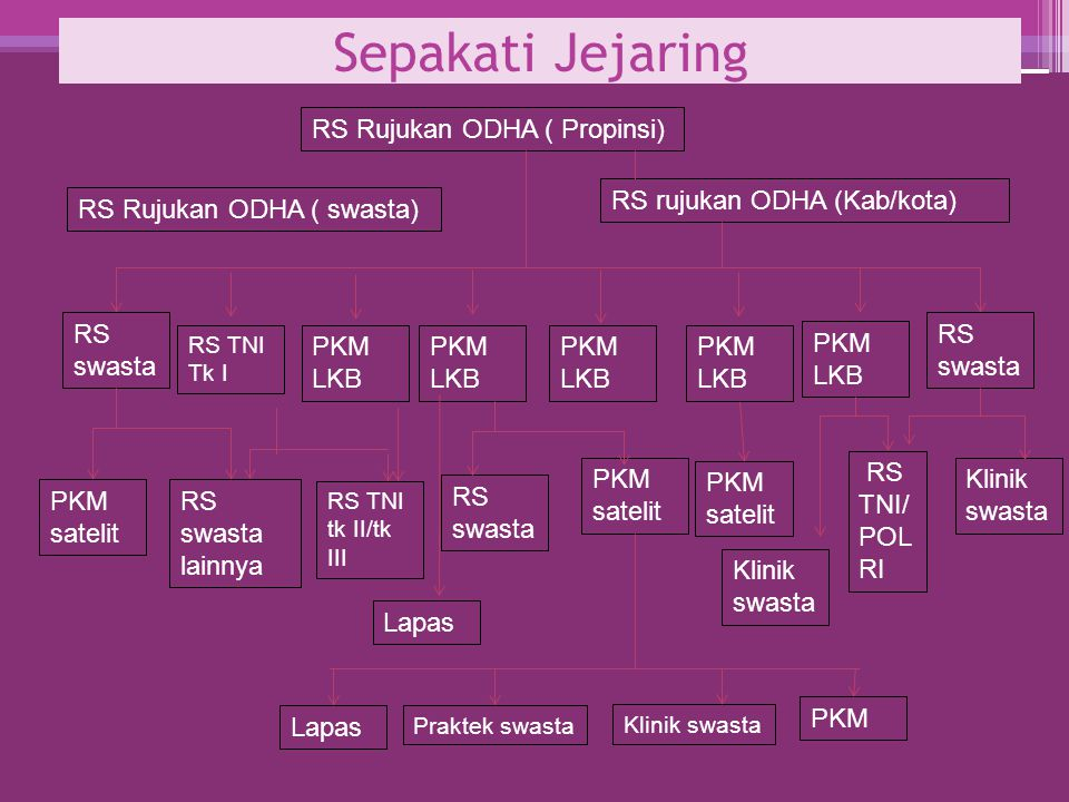 Sepakati Jejaring RS Rujukan ODHA ( Propinsi)
