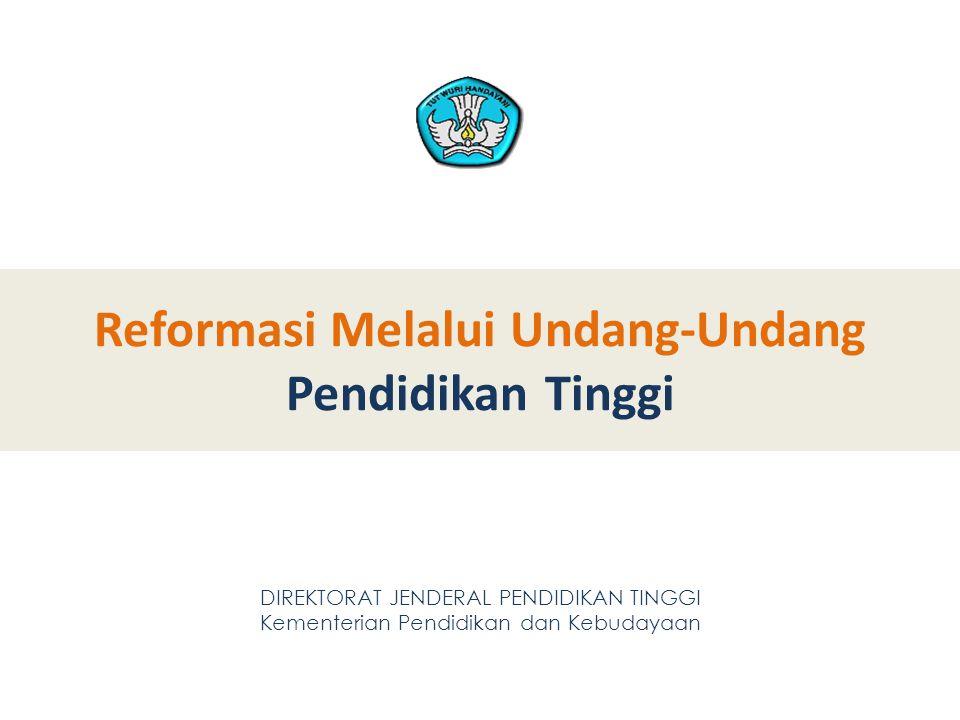 Reformasi Melalui Undang-Undang