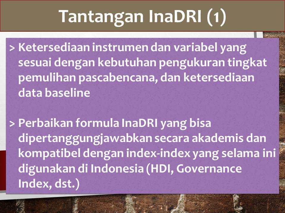 Tantangan InaDRI (1)