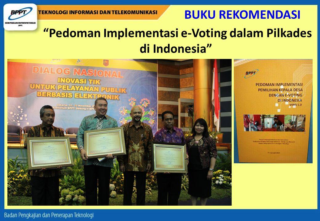 Pedoman Implementasi e-Voting dalam Pilkades di Indonesia