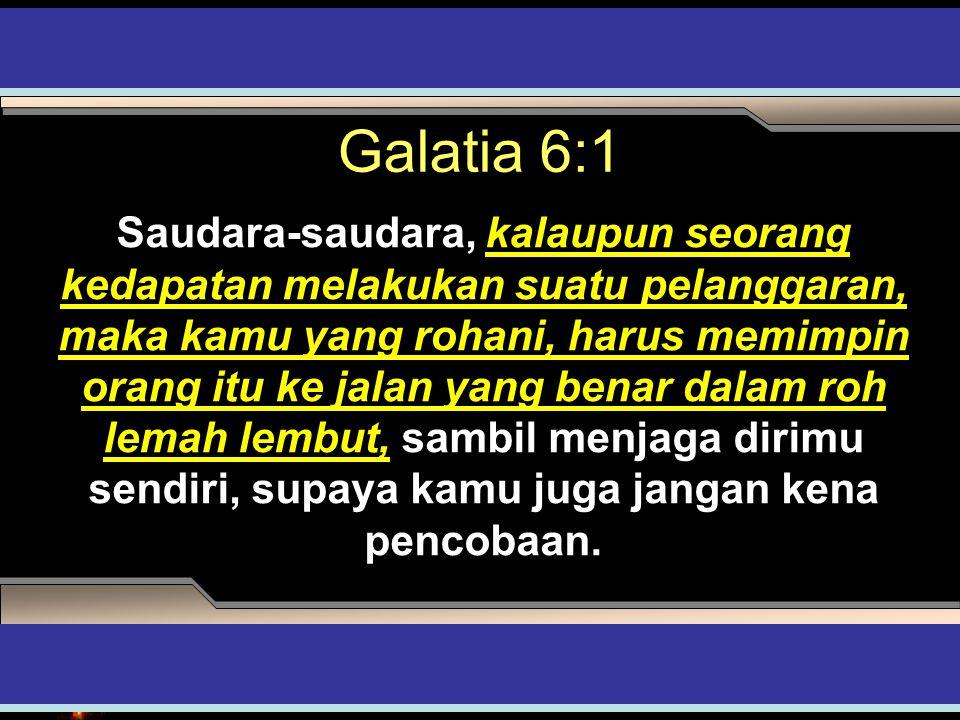 Galatia 6:1