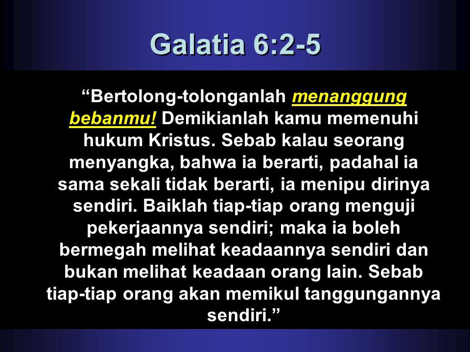 Galatia 6:2-5