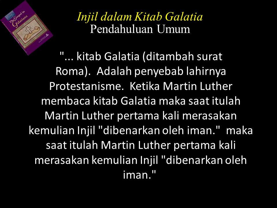 Injil dalam Kitab Galatia