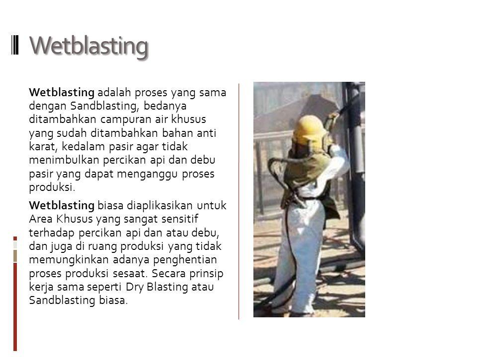 Wetblasting